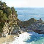 """McWay Falls, Julia Pfeiffer State Park 1"" by coljay"