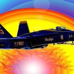"""Solo  Blue Angel"" by jt85"