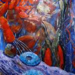 """2010-march-rockpool-painting-300-pixels1"" by sherwoodcase"