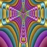 """Abstracdacrossmos Spring"" by Dr_Roy_Schneemann"