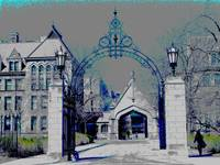 Hull Court Gate - University of Chicago