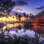"""Sunset over Grand Wailea Resort"" by FrankSlack"