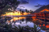 Sunset over Grand Wailea Resort