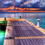 """Pier at Rum Point"" by FrankSlack"