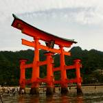 """""""Itsukushima Torii Gate"""" by mikeyd"""