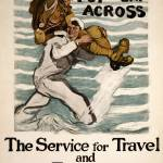 """WW ONE NAVY POSTER"" by homegear"