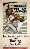 WW ONE NAVY POSTER