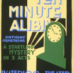 """WPA THEATER POSTER"" by homegear"