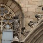 """Angel at Basilica de Santa Maria del Mar"" by davidclaudon"
