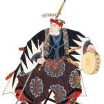 """""""Japanese Samurai Poster #65"""" by ArtLoversOnline"""
