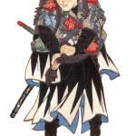 """""""Japanese Samurai Poster #67"""" by ArtLoversOnline"""