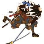 """""""Japanese Samurai Poster #68"""" by ArtLoversOnline"""