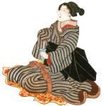 """""""Japanese Samurai Poster #79"""" by ArtLoversOnline"""