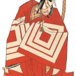 """""""Japanese Samurai Poster #82"""" by ArtLoversOnline"""
