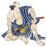 """""""Japanese Samurai Poster #87"""" by ArtLoversOnline"""