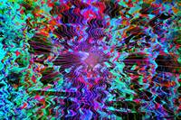 Psychedelic digital art