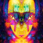 """Psychedelic digital art"" by saxrot"