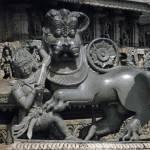 """Hoysala Royal symbol"" by blackNwhite"