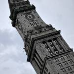 """Boston Custom House Tower in Watercolor"" by jkphotos"