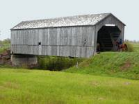 Covered Bridge at Sawmill Creek New Brunswick Cana