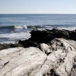 """Beavertail Beach, Jamestown, RI"" by AbigailHill"