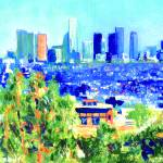 """Los Angeles from the Hollwood Hills"" by BeaconArtWorksCorporation"