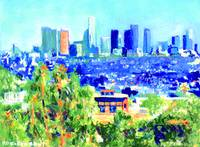 Los Angeles from the Hollwood Hills