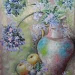 """Blue Hydrangea"" by Apollonia237"