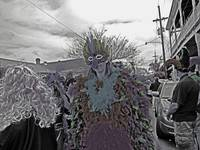 Bird Girl, St Anne Parade, Mardi Gras Day #1