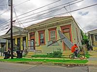 N. Claiborne Street, Faubourg St. Roch, New Orlean