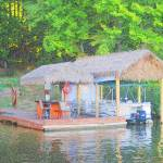 """Make an Offer-The Tiki Bar on Lake Royale"" by ScottHedrickPhotography"