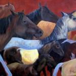 """Island Ponys"" by lesliehoopswallace"