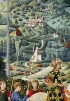Fantastical landscape, the Journey of the Magi