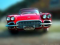 1961 Red Corvette Dream