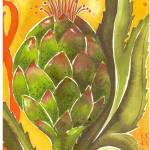 """artichoke"" by arosawatercolor"