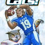 """Wildcats vs Owls"" by ChucksArtBox"
