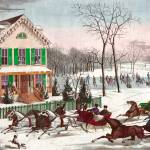 """HORSE DRAWN SLEIGHS"" by homegear"