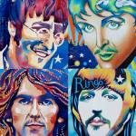 """The Fab Four - The Beatles"" by Diamodeb"