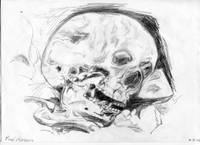 skull drawing, copied from off the TV/Video