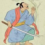 """""""Japanese Samurai warrior with sword"""" by patrimonio"""