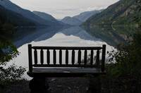 Stehekin Bench View