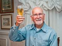 Toasting retirement