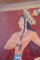 Mural in Palace of Minos