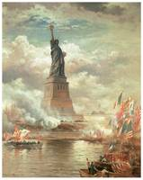 Statue of Liberty Englightening the World