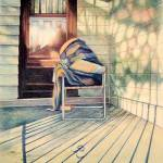 """Porch Still Life"" by Artcanadianstyle"