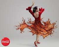 CocaCola Flamenco Dancer