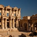 """Celsus Library in Ancient Ephesus"" by tonymoran"