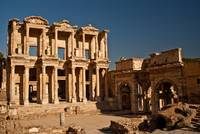 Celsus Library in Ancient Ephesus