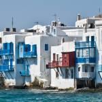 """Mykonos seafront"" by tonymoran"