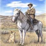 """""""Montana Shepherd"""" by ArtsandDogs"""